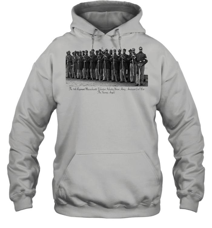 US Civil War Legacy All Black Regiment  Unisex Hoodie