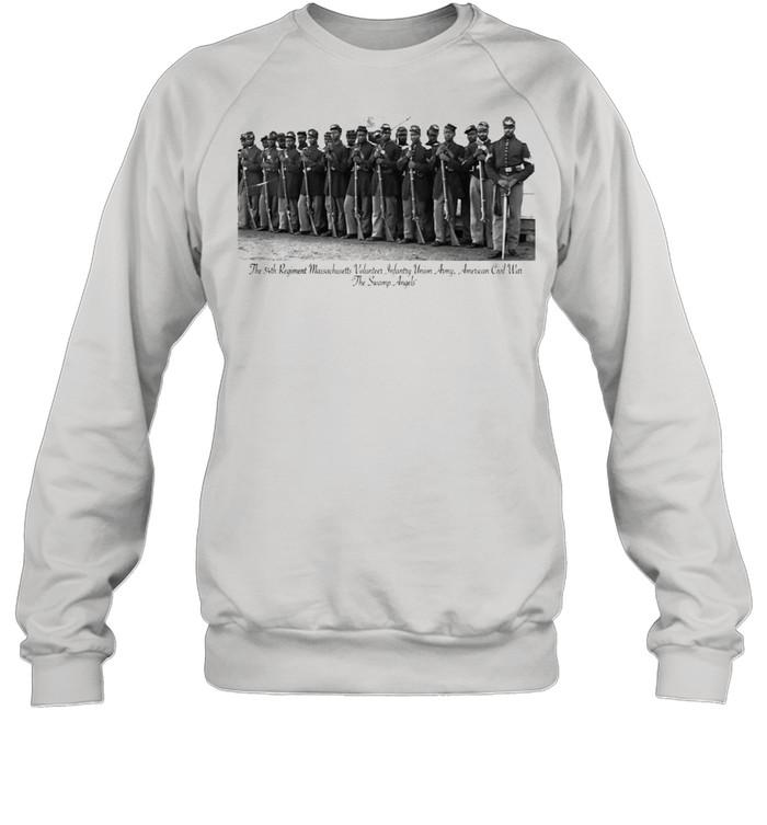 US Civil War Legacy All Black Regiment  Unisex Sweatshirt