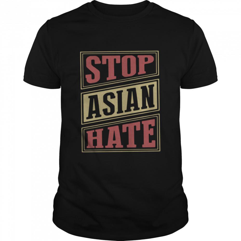 Stop Asian Hate t-shirt Classic Men's T-shirt