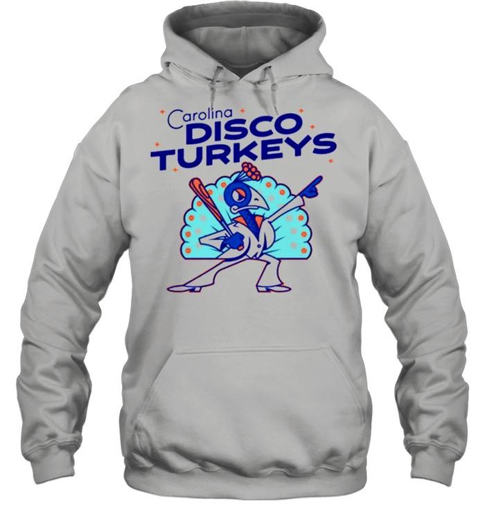 The Carolina Disco Turkeys shirt Unisex Hoodie