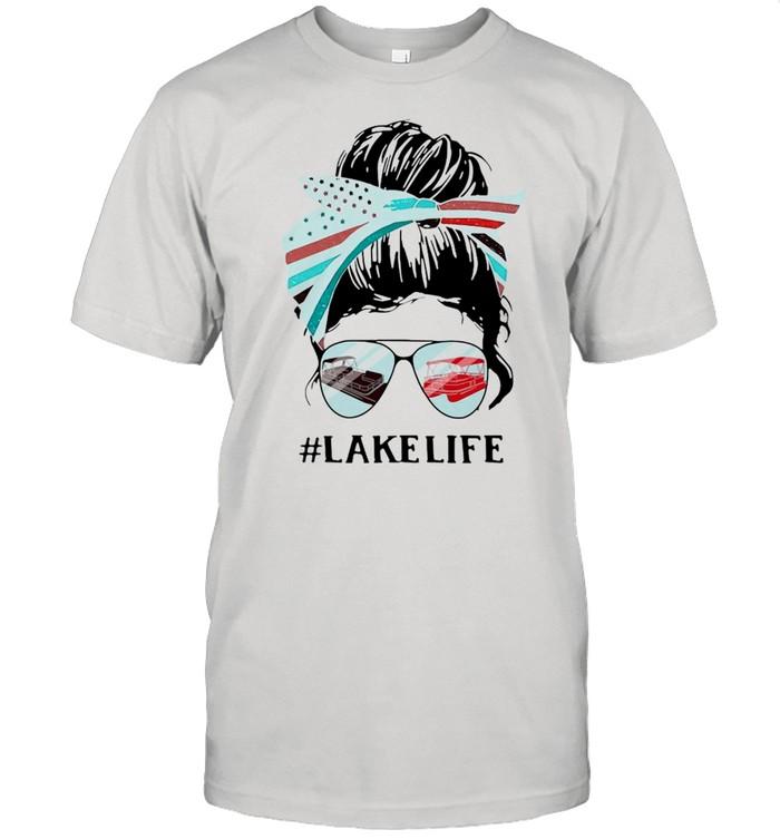 Women Lake Life  Classic Men's T-shirt