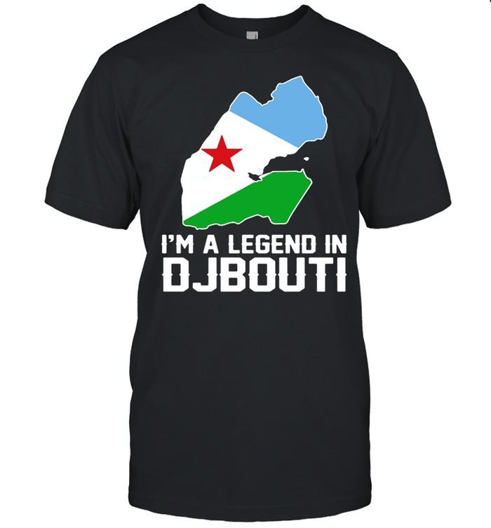I'm A Legend In Djibouti shirt Classic Men's T-shirt