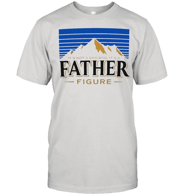 It's Not A Dad Bod It's A Father Figure Vintage T-shirt Classic Men's T-shirt