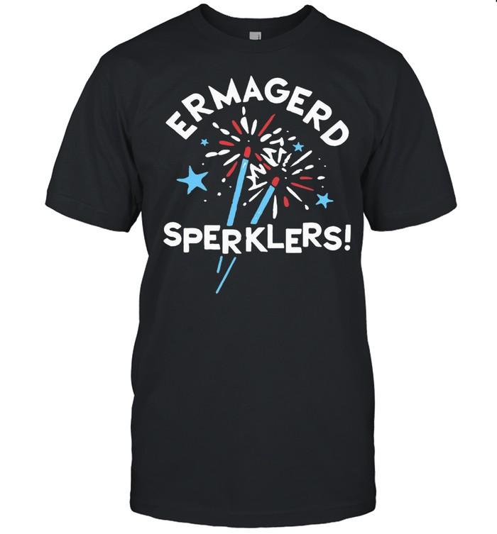 Ermagerd Sperklers  Classic Men's T-shirt