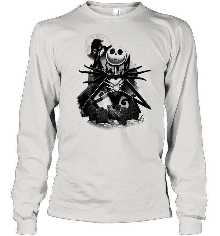 Disney Nightmare Before Christmas Jack T- Long Sleeved T-shirt