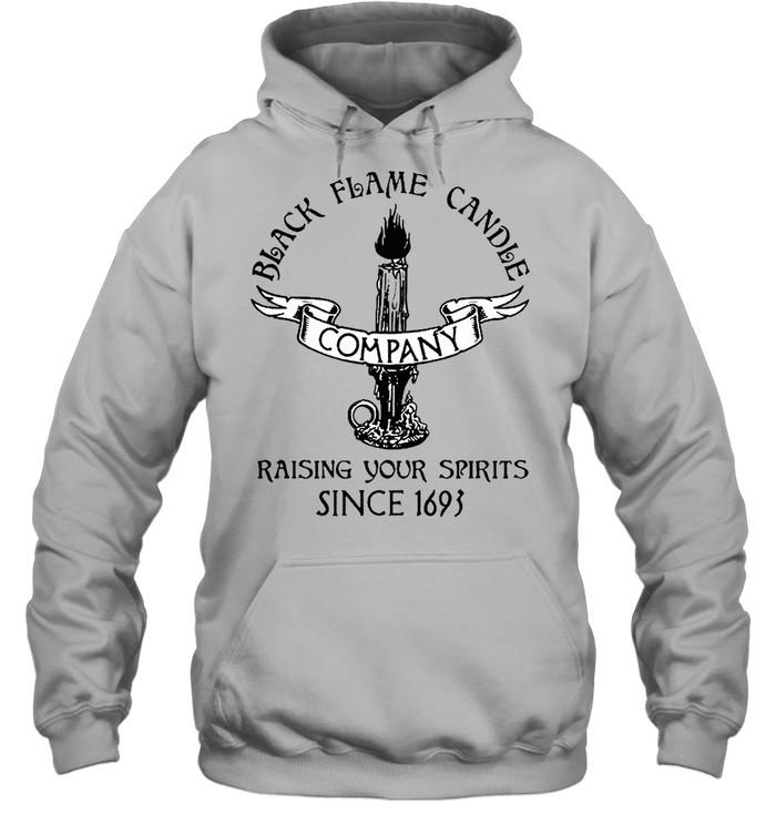 black flame candle company shirt Unisex Hoodie