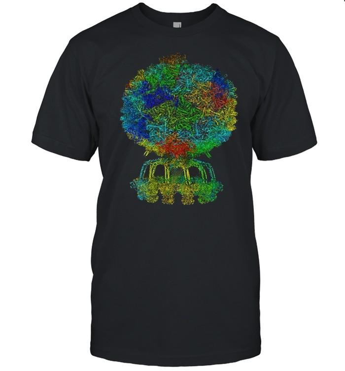 Electron Microscopy Structure Bacteriophage Protein Molecule T-shirt Classic Men's T-shirt