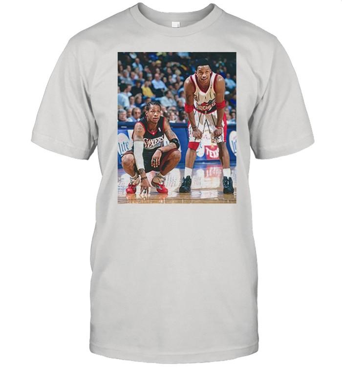 Steve Francis and Allen Iverson shirt Classic Men's T-shirt