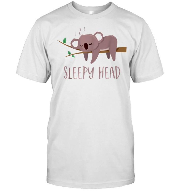 Sleepy Head Koala shirt Classic Men's T-shirt
