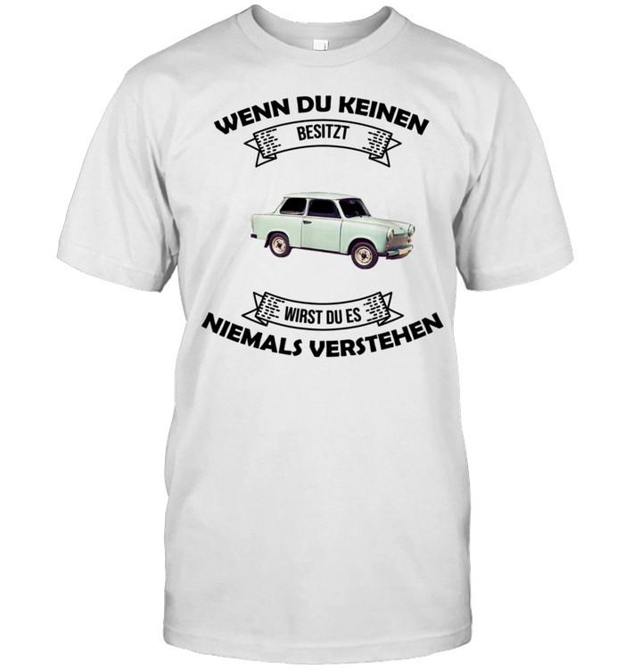 Trabi Deluxe 601 Geschenkidee shirt Classic Men's T-shirt