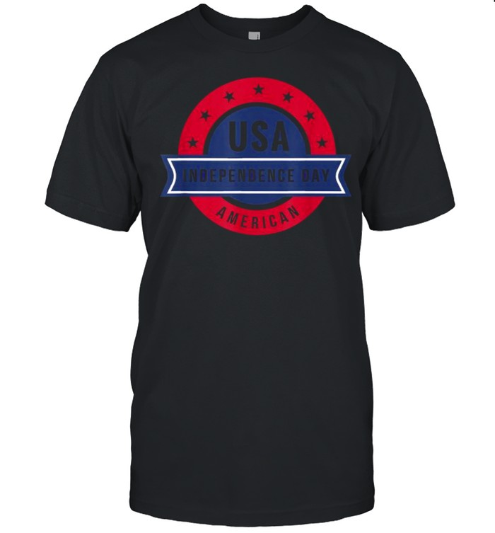 USA American Independence 4th of July Day T- Classic Men's T-shirt