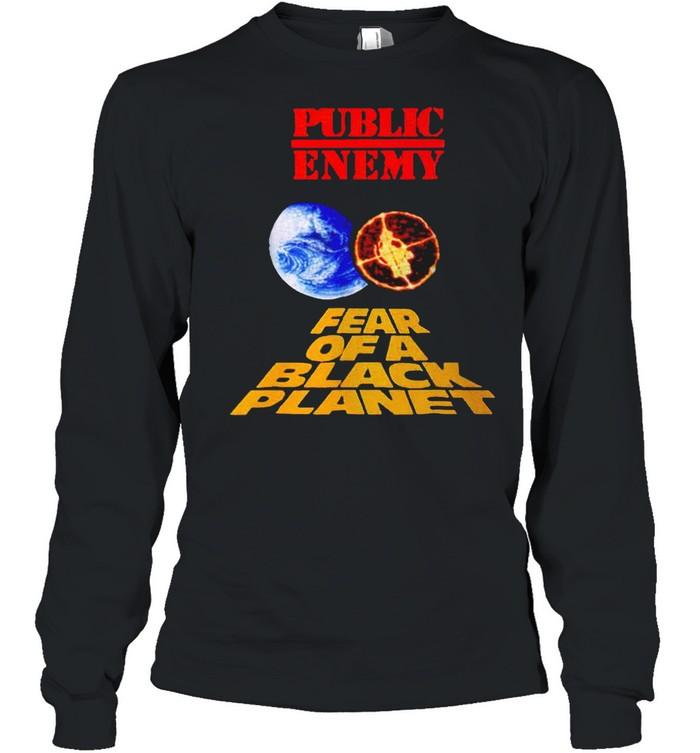 Public enemy fear of a black planet shirt Long Sleeved T-shirt