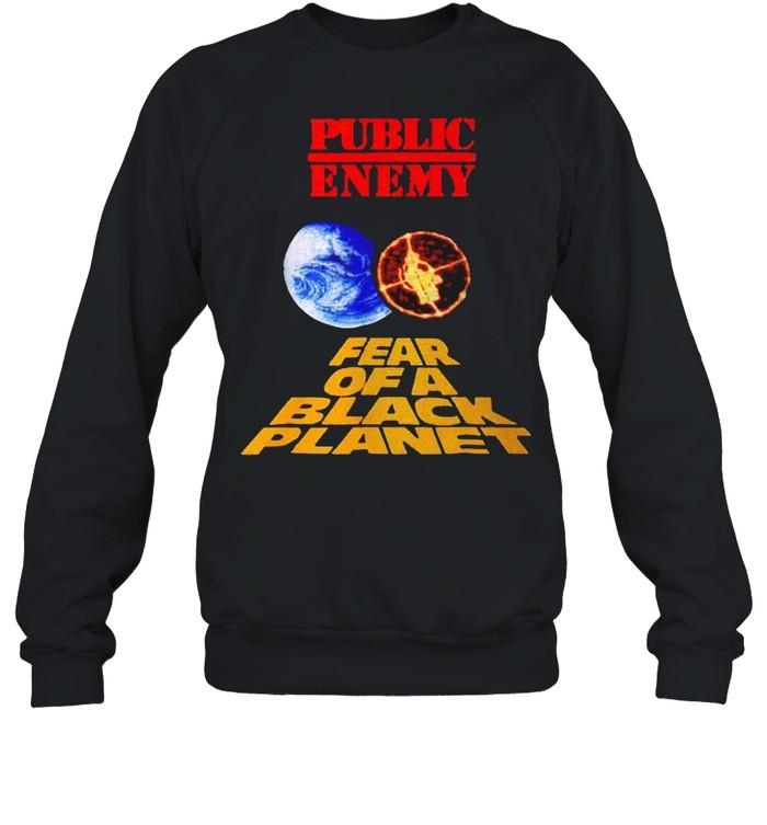 Public enemy fear of a black planet shirt Unisex Sweatshirt