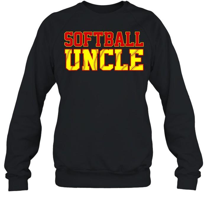 Softball Uncle Christmas Fathers Day Softball Uncle shirt Unisex Sweatshirt