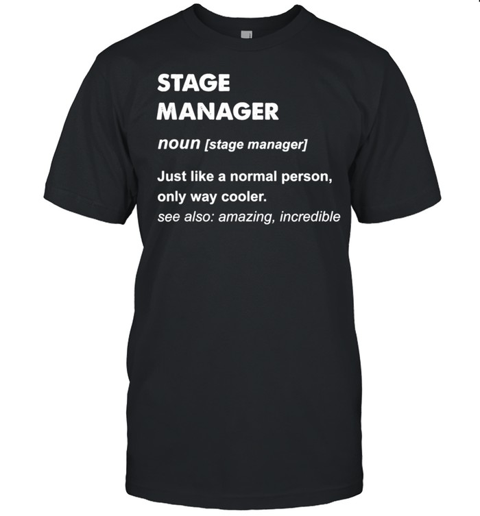 Stage Manager shirt Classic Men's T-shirt