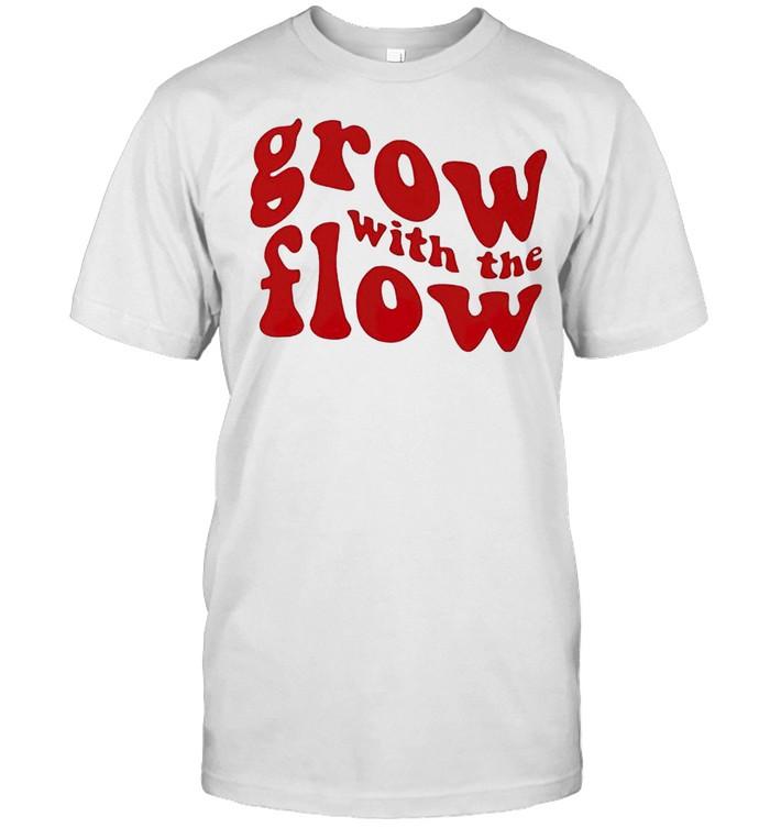 Grow with the flow shirt Classic Men's T-shirt