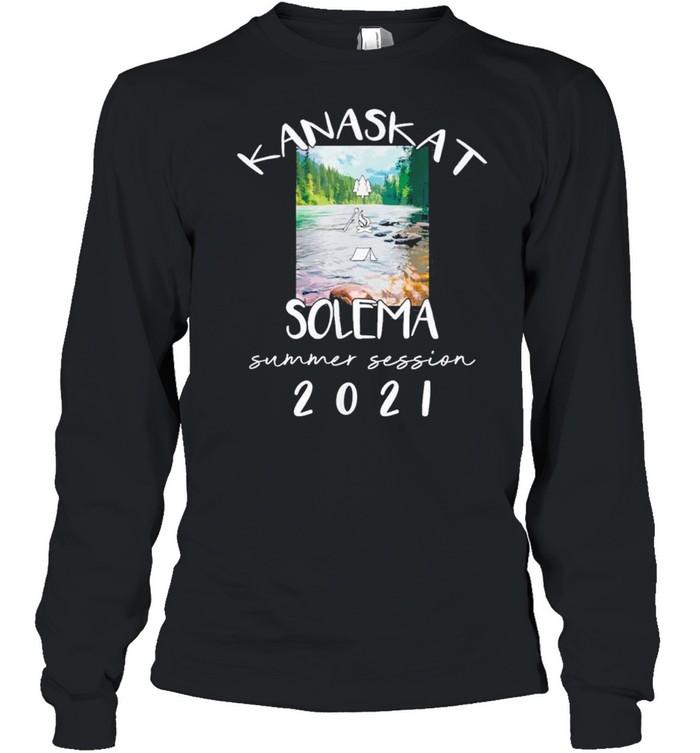 Kanaskat Solema Summer Camp shirt Long Sleeved T-shirt
