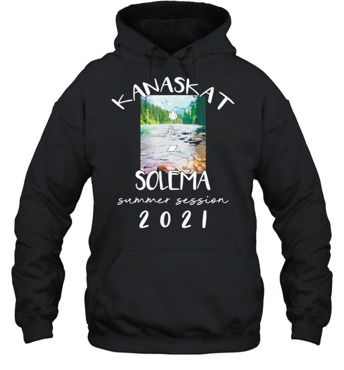 Kanaskat Solema Summer Camp shirt Unisex Hoodie