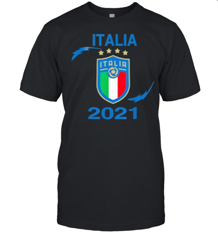 Collectible Italian Jersey Soccer 2021 Champions Italia shirt Classic Men's T-shirt