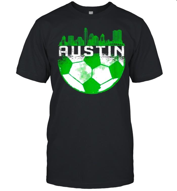Austin Soccer Jersey Austin Texas Soccer  Classic Men's T-shirt
