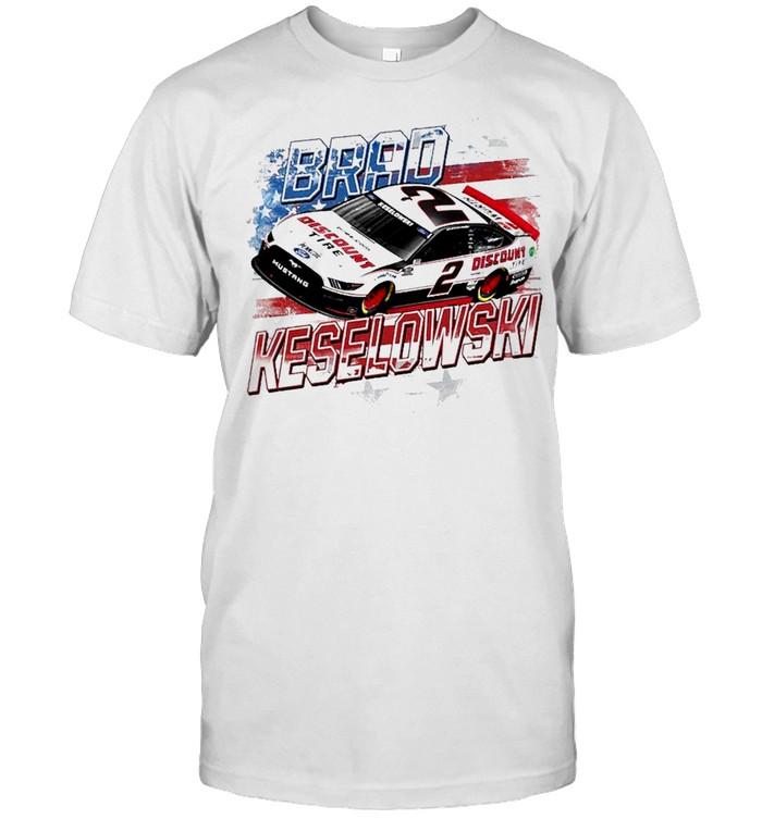 Brad Keselowski Team Penske Old Glory shirt Classic Men's T-shirt