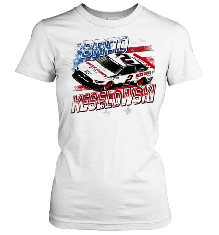 Brad Keselowski Team Penske Old Glory shirt Classic Women's T-shirt