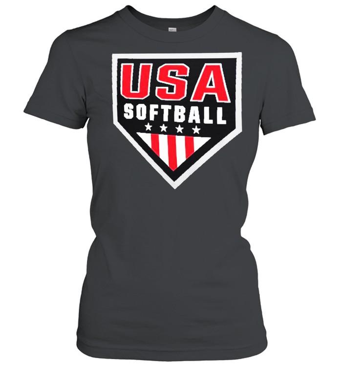 USA Softball Primary Logo shirt Classic Women's T-shirt