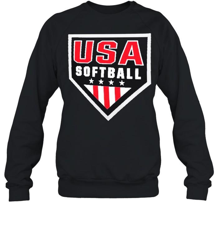 USA Softball Primary Logo shirt Unisex Sweatshirt