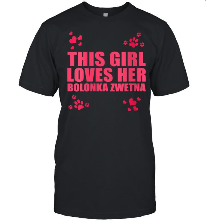 This girl loves her Bolonka Zwetna shirt Classic Men's T-shirt