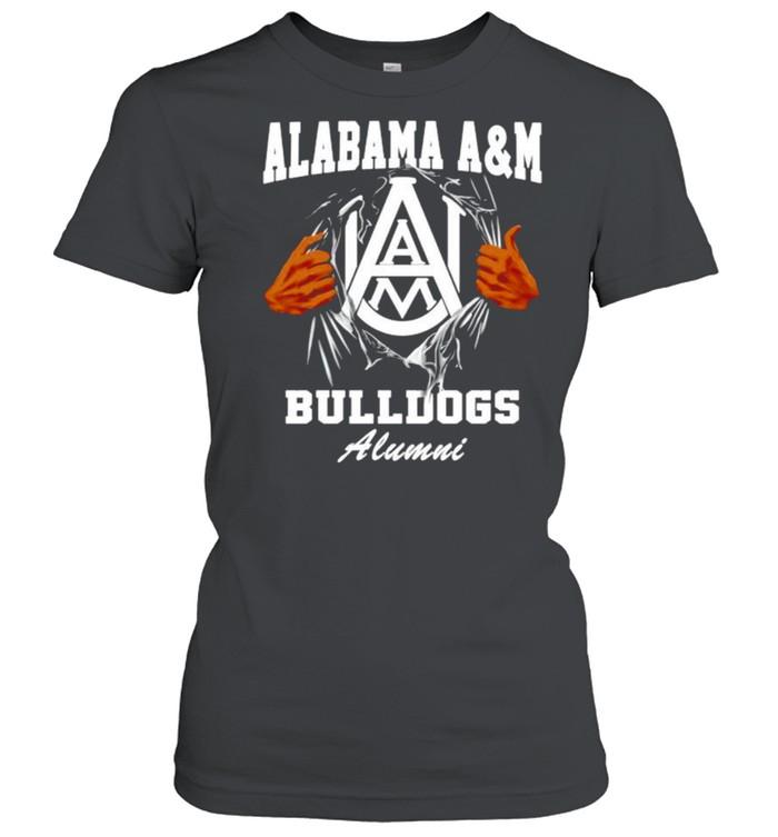 Alabama A&M Bulldogs Alumni shirt Classic Women's T-shirt