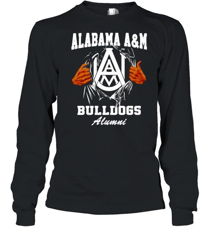 Alabama A&M Bulldogs Alumni shirt Long Sleeved T-shirt
