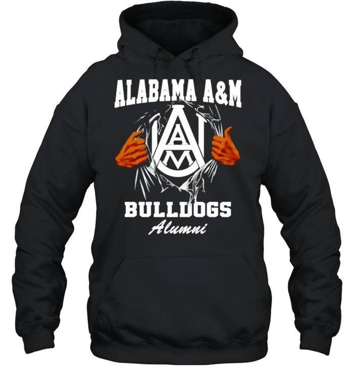 Alabama A&M Bulldogs Alumni shirt Unisex Hoodie