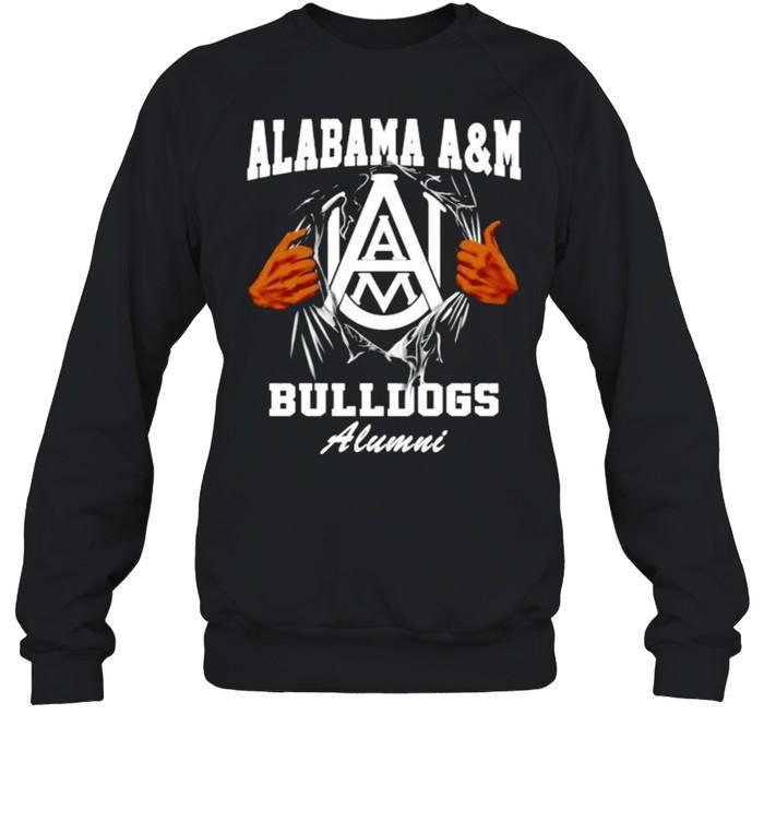 Alabama A&M Bulldogs Alumni shirt Unisex Sweatshirt
