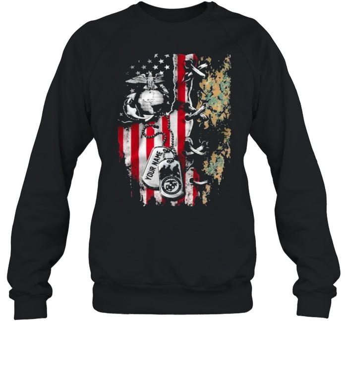 American Flag Veteran  Unisex Sweatshirt