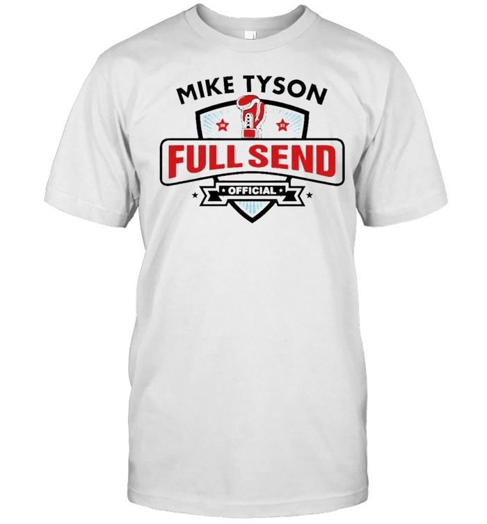 Mike Tyson x Full Send official shirt Classic Men's T-shirt