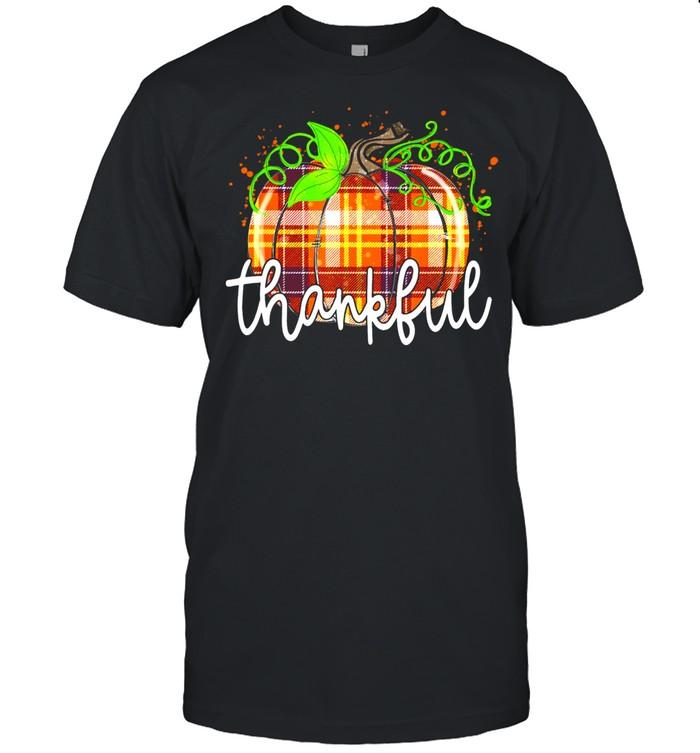 Pumpkin Fall Autumn Thankful Thanksgiving Halloween Costume shirt Classic Men's T-shirt