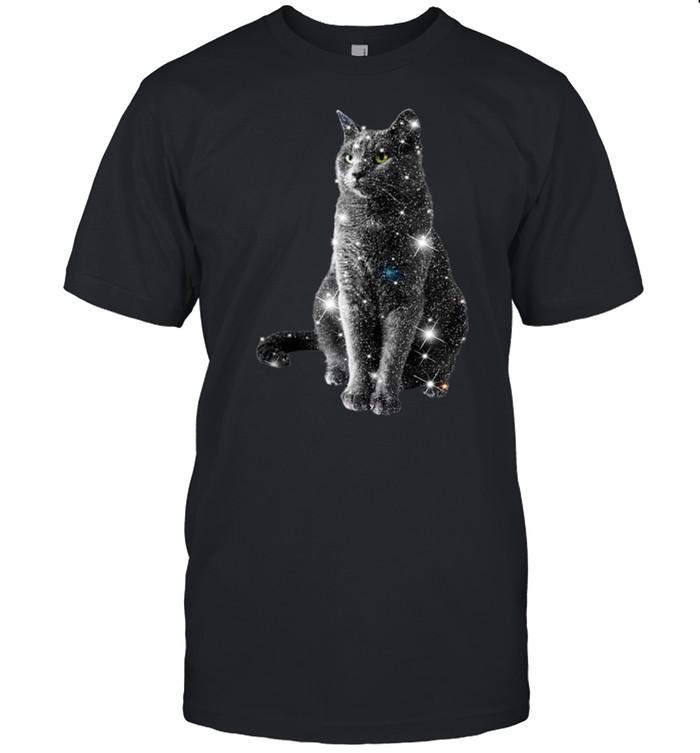 Sitting Black Cat shirt Classic Men's T-shirt