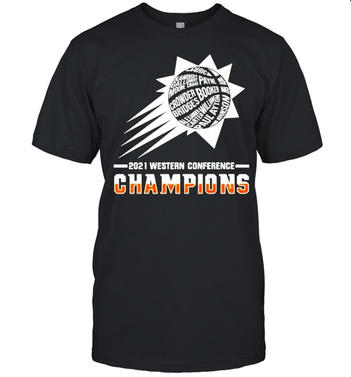 2021 western conference champions booker shirt Classic Men's T-shirt
