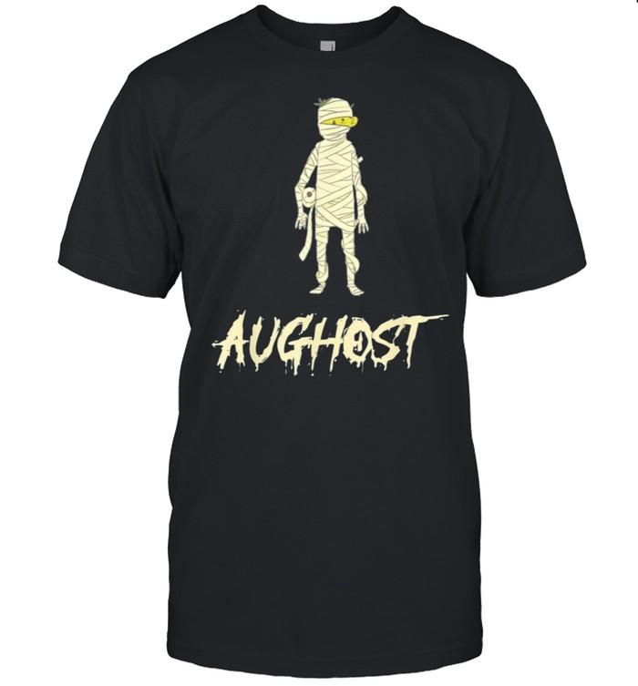 Halloween In August Funny Mummy Halloween Aughost Shirt Masswerks Store