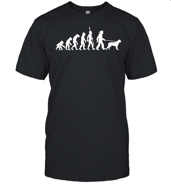 Rottweiler Evolution Dog shirt Classic Men's T-shirt