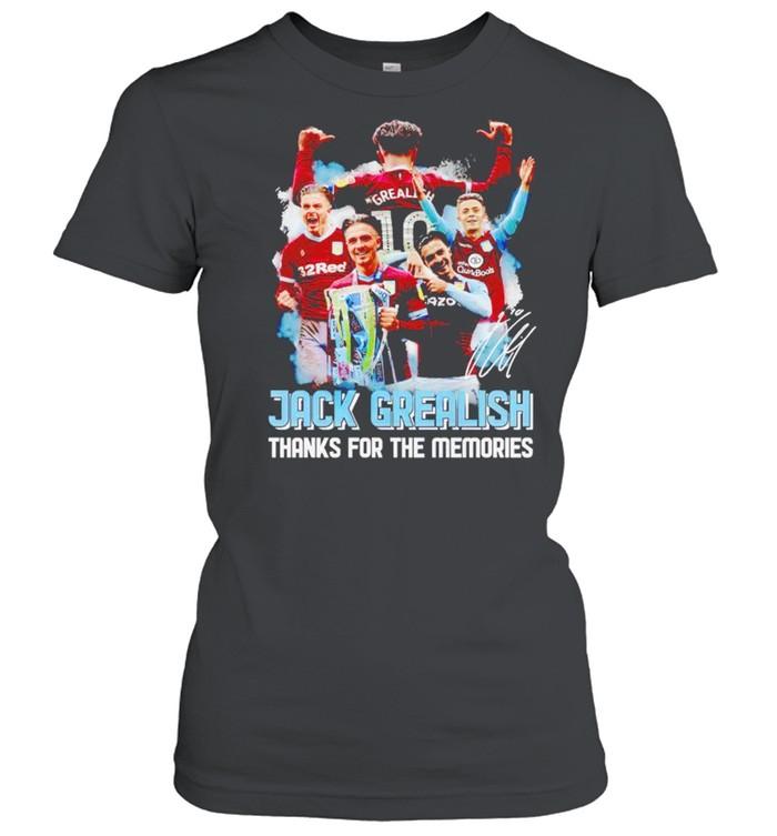 Jack Grealish thanks for the memories shirt Classic Women's T-shirt