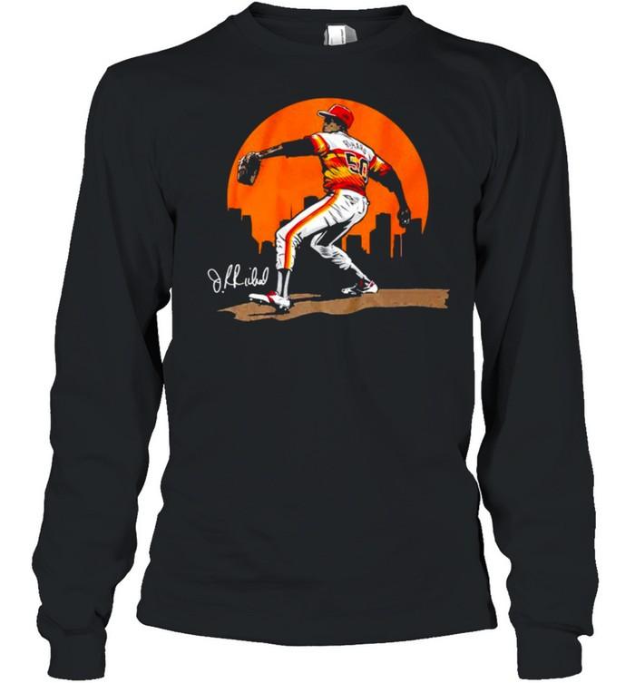 Legend of J.R. Richard shirt Long Sleeved T-shirt