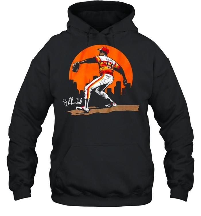 Legend of J.R. Richard shirt Unisex Hoodie