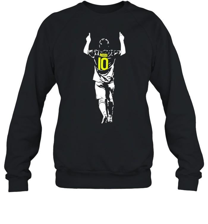Lionel Messi 10 Argentina Barcelona shirt Unisex Sweatshirt