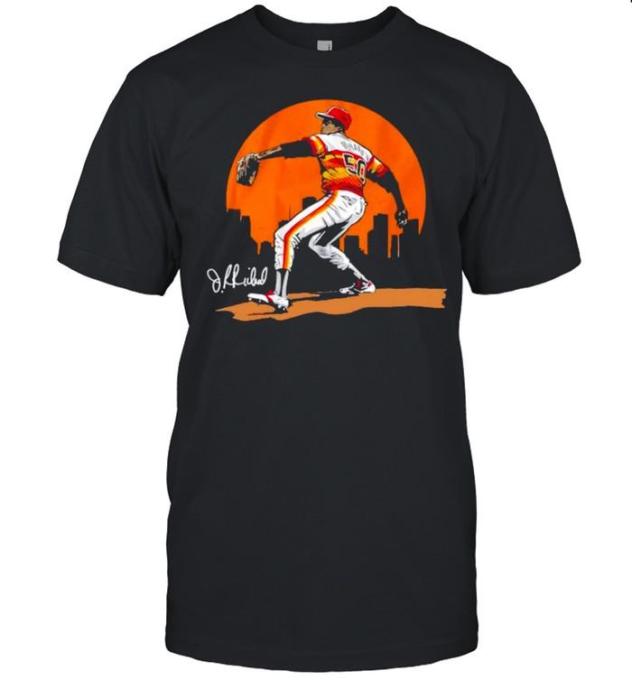 Houston baseball legend of J.R. Richard shirt Classic Men's T-shirt