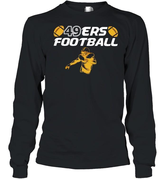 San Francisco 49ers football shirt Long Sleeved T-shirt