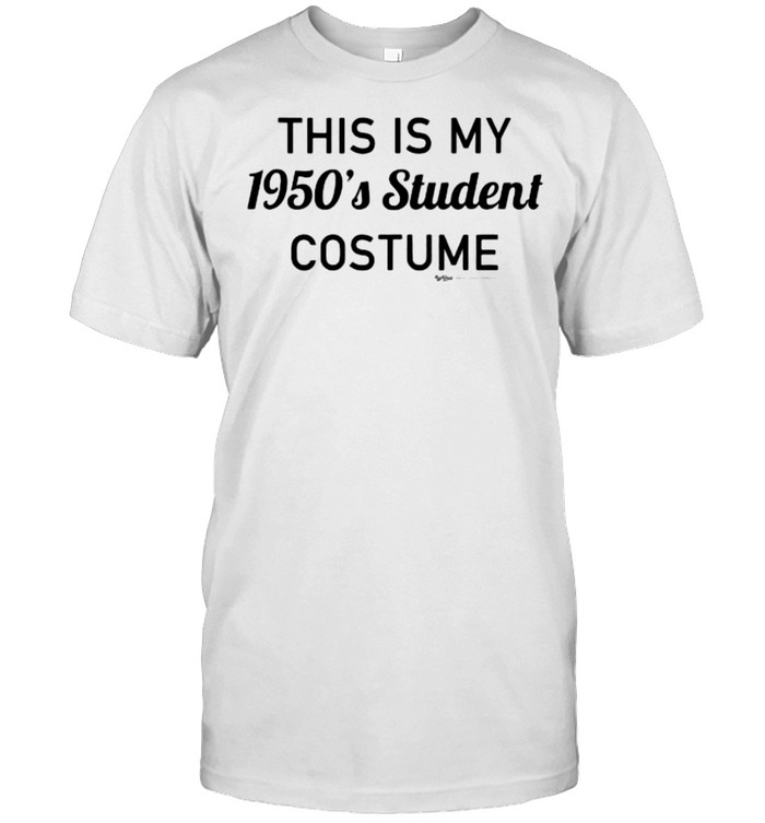 this Is My 1950's Student Costume T- Classic Men's T-shirt