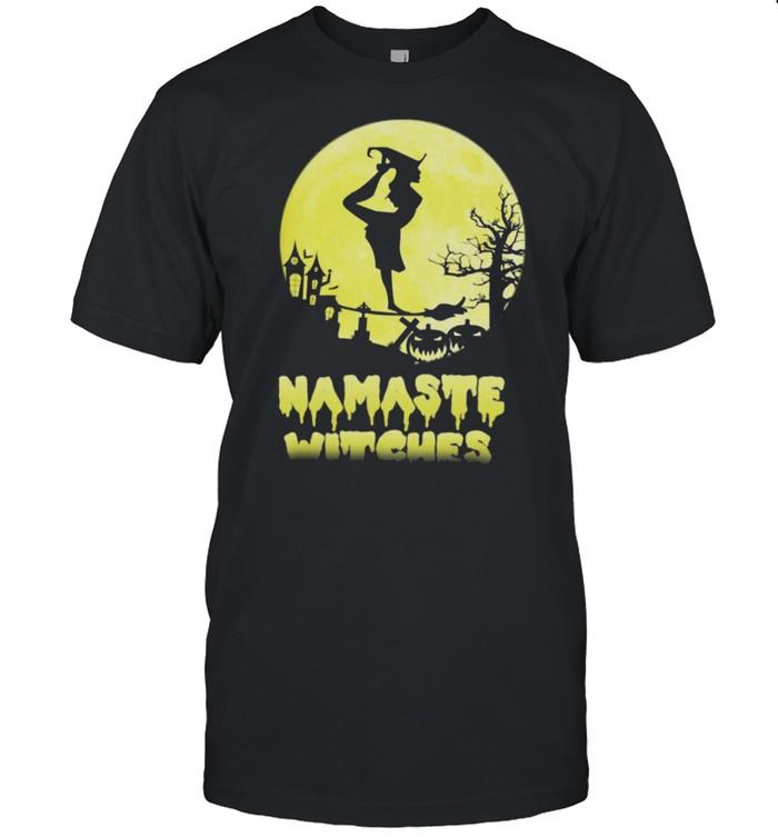 Namaste witches Halloween shirt Classic Men's T-shirt