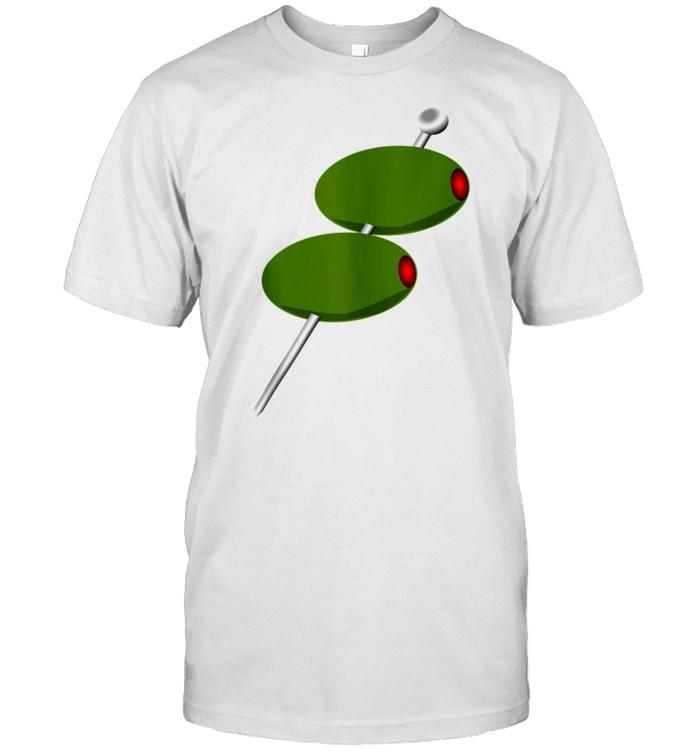 Martini Olives Bartender Student shirt Classic Men's T-shirt