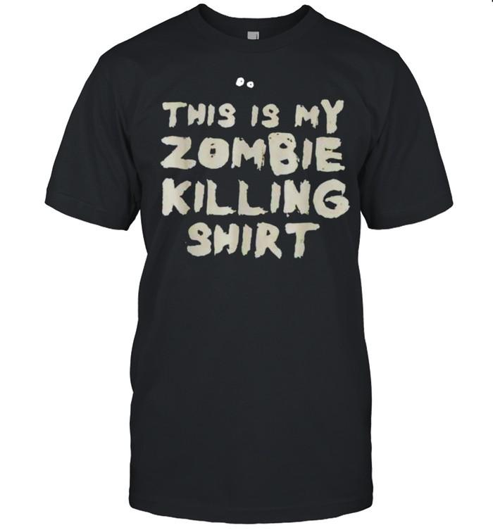 This is my zombie killing shirt Classic Men's T-shirt